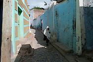 The streets of Harar, Ethiopia.