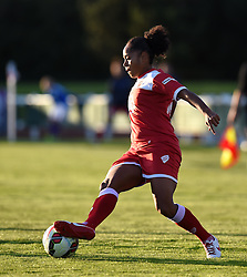 Bristol Academy's Jade Boho Sayo - Mandatory by-line: Paul Knight/JMP - Mobile: 07966 386802 - 27/08/2015 -  FOOTBALL - Stoke Gifford Stadium - Bristol, England -  Bristol Academy Women v Oxford United Women - FA WSL Continental Tyres Cup