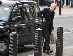 © Licensed to London News Pictures. 16/12/2019. London, UK. Former Labour MP FRANK FIELD is seen arriving at the Houses of Parliament in Westminster, London. Last week the Conservative Party achieved a majority of 80 seats in a general election which saw large numbers of seats traditionally held by Labour switch to the Tories. Photo credit: Ben Cawthra/LNP