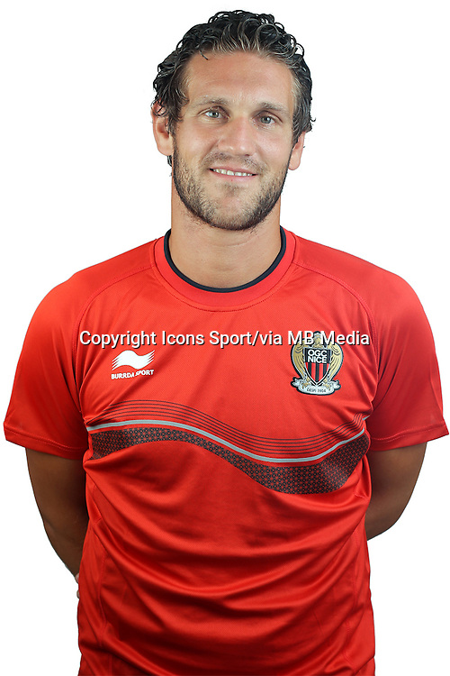 Alexandre DELLAL - 02.08.2013 - Photo Officielle - Nice -<br /> Photo : Icon Sport