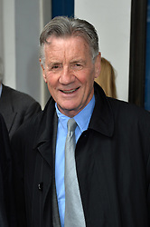 Journalist and television presenter Alan Whicker's memorial service at Grosvenor Chapel, Mayfair, London, UK.<br /> <br /> Pictured is Michael Palin attending the service.<br /> <br /> Wednesday, 28th May 2014. Picture by Ben Stevens / i-Images
