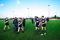 Benjy Joseland of Bristol Bears U18 after Bears U18 win 18-17 - Rogan/JMP - 14/12/2019 - RUGBY UNION - Shaftesbury Park - Bristol, England - Bristol Bears U18 v Bath Rugby U18 - Premiership Rugby U18 Academy League.