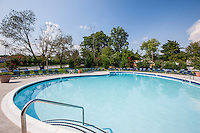 Exterior photo of the Swimming Pool at Kenilworth at Perring Park Apartments by Jeffrey Sauers of Commercial Photographics