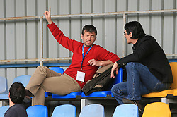Assistant coach of Domzale Dejan Djuranovic at 26th Round of Slovenian First League football match between NK Domzale and NK Rudar Velenje in Sports park Domzale, on April 4, 2009, in Domzale, Slovenia. (Photo by Vid Ponikvar / Sportida)