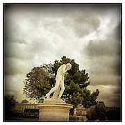 10-4-11 --- Cain by Henri Vidal (1896), in the Tuileries Gardens, Paris.