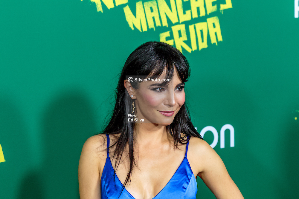 LOS ANGELES, CA - AUGUST 31 Actress Martha Higareda attends the red carpet premiere of the film No Manches Frida the the Regal Cinemas in downtown Los Angeles on Tuesday night 2016 August 31. Byline, credit, TV usage, web usage or linkback must read SILVEXPHOTO.COM. Failure to byline correctly will incur double the agreed fee. Tel: +1 714 504 6870.