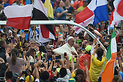 28 July 2016. Cracow, Poland. Pope Francis at the world youth days. Photo: Krystian Maj/FORUM