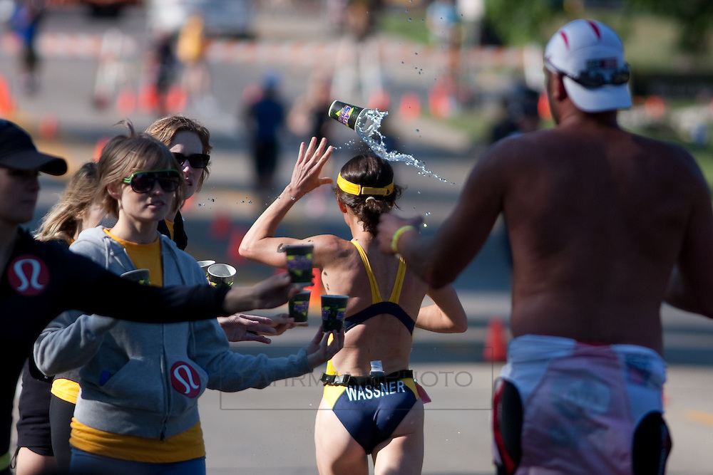 Lifetime Fitness Triathlon held July, 11th, 2009 in and around Lake Nokomis in Minneapolis