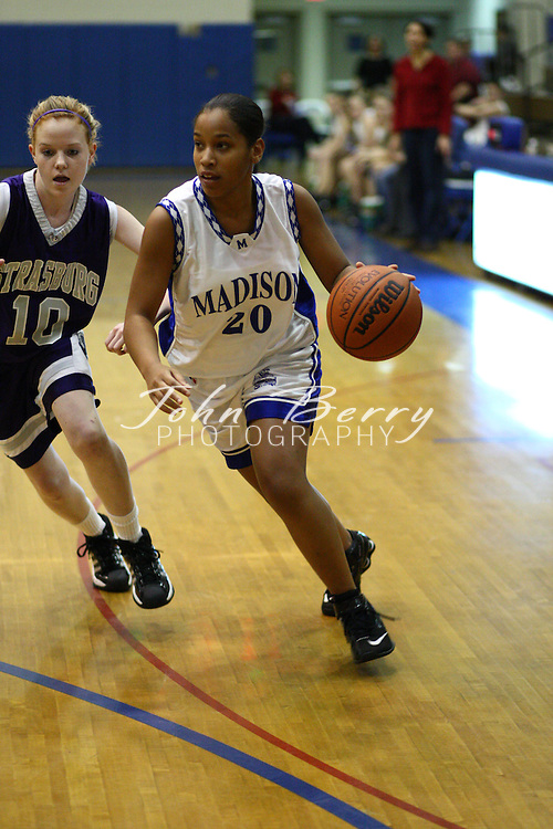 MCHS JV Girls Basketball.vs Strasburg.1/29/2008..