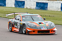 #40 Colin White/Tom Sharp - IDL-CWS, Ginetta G55 GT3 during British GT Championship race at Rockingham, Corby, Northamptonshire, United Kingdom. May 05 2014. World Copyright Peter Taylor/PSP. Copy of publication required for printed pictures.  Every used picture is fee-liable. http://archive.petertaylor-photographic.co.uk