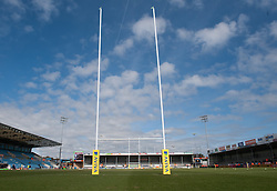 General view of Sandy Park.  - Mandatory by-line: Alex Davidson/JMP - 02/04/2016 - RUGBY - Sandy Park Stadium - Exeter, England - Exeter Chiefs v Worcester Warriors - Aviva Premiership