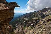 View of Grand Teton National Park,  near Surprise Lake, 3000m up.