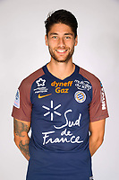 Paul Lasne during photoshooting of Montpellier Herault  for new season 2017/2018 on September 3, 2017 in Montpellier<br /> Photo : Mhsc / Icon Sport