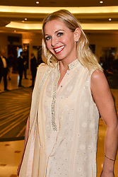 Nikki Bedi at The Asian Awards, The Hilton Park Lane, London England. 5 May 2017.<br /> Photo by Dominic O'Neill/SilverHub 0203 174 1069 sales@silverhubmedia.com
