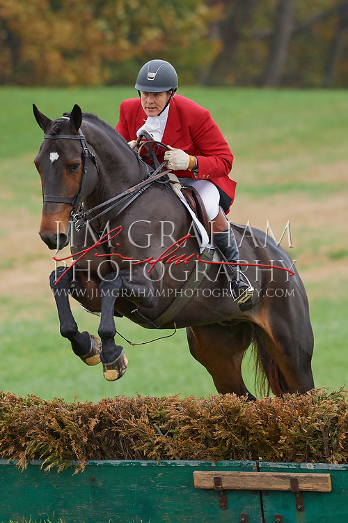 at the 83rd running of the Pennsylvania Hunt Cup Races in Unionville, Pa., on Sunday 5 November 2017.Photograph by Jim Graham