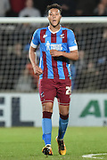 Kyle Wootton of Scunthorpe United who scored second goal during the Sky Bet League 1 match between Scunthorpe United and Bury at Glanford Park, Scunthorpe, England on 19 April 2016. Photo by Ian Lyall.