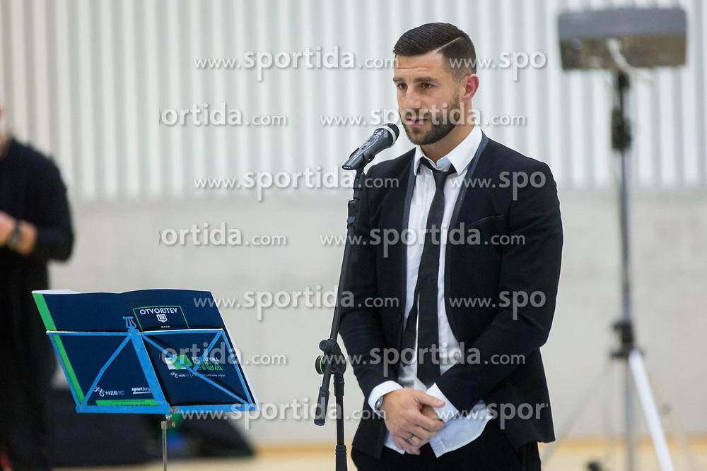 Bojan Jokic during Opening event of Sports hall Baza, on January 8, 2018 in Sports hall Baza, Ljubljana, Slovenia. Photo by Ziga Zupan / Sportida