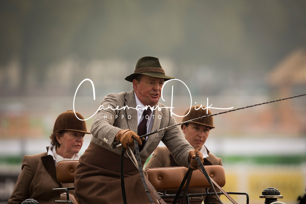 Gert Schrijvers, (BEL), El Fiero, Giganta A, Onyx, Replay, Victor K - Driving Cones - Alltech FEI World Equestrian Games™ 2014 - Normandy, France.<br /> © Hippo Foto Team - Dirk Caremans<br /> 07/09/14