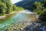 Tara River Canyon (also known as the Tara River Gorge) Montenegro.