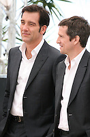 Actor, Clive Owen and Director, Guillaume Canet, at the Blood Ties film photocall at the Cannes Film Festival Monday 20th May 2013