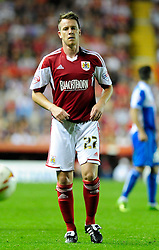 Bristol City's Nicky Shorey  - Photo mandatory by-line: Dougie Allward/JMP - Tel: Mobile: 07966 386802 04/09/2013 - SPORT - FOOTBALL -  Ashton Gate - Bristol - Bristol City V Bristol Rovers - Johnstone Paint Trophy - First Round - Bristol Derby