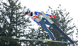 03.01.2015, Bergisel Schanze, Innsbruck, AUT, FIS Ski Sprung Weltcup, 63. Vierschanzentournee, Training, im Bild Johan Andre Forfang (NOR) // Johan Andre Forfang of Norway in action during Trial Jump of 63 rd Four Hills Tournament of FIS Ski Jumping World Cup at the Bergisel Schanze, Innsbruck, Austria on 2015/01/03. EXPA Pictures © 2015, PhotoCredit: EXPA/ Peter Rinderer
