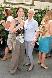 Left to right, MARIA GRACHVOGEL and MICHELLE BONN at a ladies lunch at Toto's, Walton Street, London on 12th June 2014.