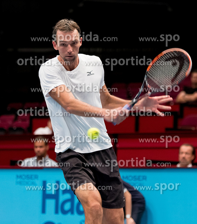 24.10.2016, Stadthalle, Wien, AUT, ATP Tour, Erste Bank Open, 1. Runde, im Bild Ivo Karlovic (CRO) // Ivo Karlovic of Croatia during the 1st round match of Erste Bank Open of ATP Tour at the Stadthalle in Vienna, Austria on 2016/10/24. EXPA Pictures © 2016, PhotoCredit: EXPA/ Sebastian Pucher