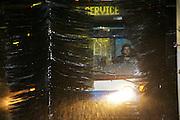 CT Mont-Royal.  autobus dans un lavoir automatique