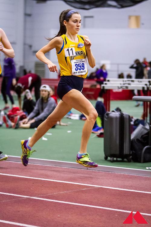 ECAC Indoor Champs, womens 5000, Quinnipiac