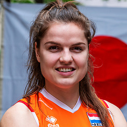 13-10-2018 JPN: World Championship Volleyball Women day 14, Nagoya<br /> Portraits Dutch Volleybal Team - Yvon Belien #3 of Netherlands