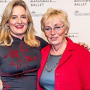 NLD/Amsterdam/20170320 - Onegin – Het Nationale Ballet premiere, Martine Sandifort en haar moeder