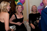 TANIA BRYER; KATE REARDON; ANNIE HOLCROFT, Kate Reardon and Michael Roberts host a party to celebrate the launch of Vanity Fair on Couture. The Ballroom, Moet Hennessy, 13 Grosvenor Crescent. London. 27 October 2010. -DO NOT ARCHIVE-© Copyright Photograph by Dafydd Jones. 248 Clapham Rd. London SW9 0PZ. Tel 0207 820 0771. www.dafjones.com.