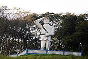 Pouso Alegre_MG, Brasil...Estatua em Pouso Alegre...The statue in Pouso Alegre...Foto: LEO DRUMOND / NITRO.....