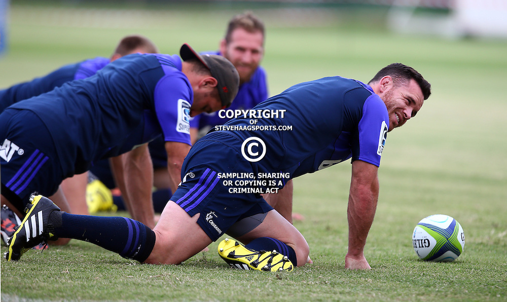 DURBAN, SOUTH AFRICA, 24,MARCH, 2016 - Ryan Crotty of the BNZ Crusaders during The Crusaders training session  at Northwood School Durban North in Durban and the Crusaders Media conference, South Africa. (Photo by Steve Haag)<br /> <br /> images for social media must have consent from Steve Haag