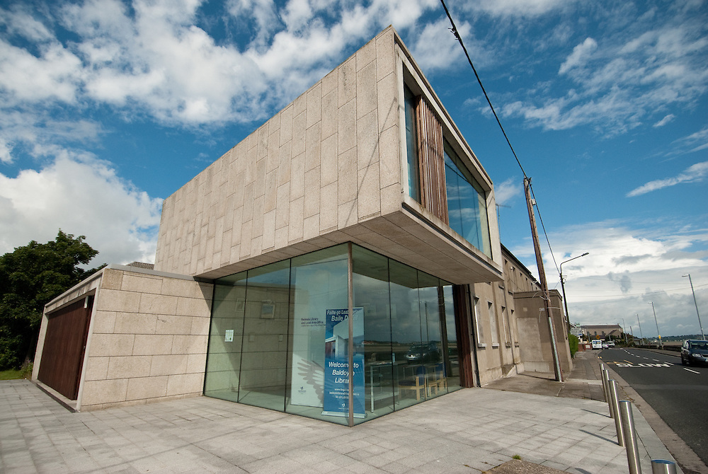 Baldoyle library for Fingal County Council. July 2010.