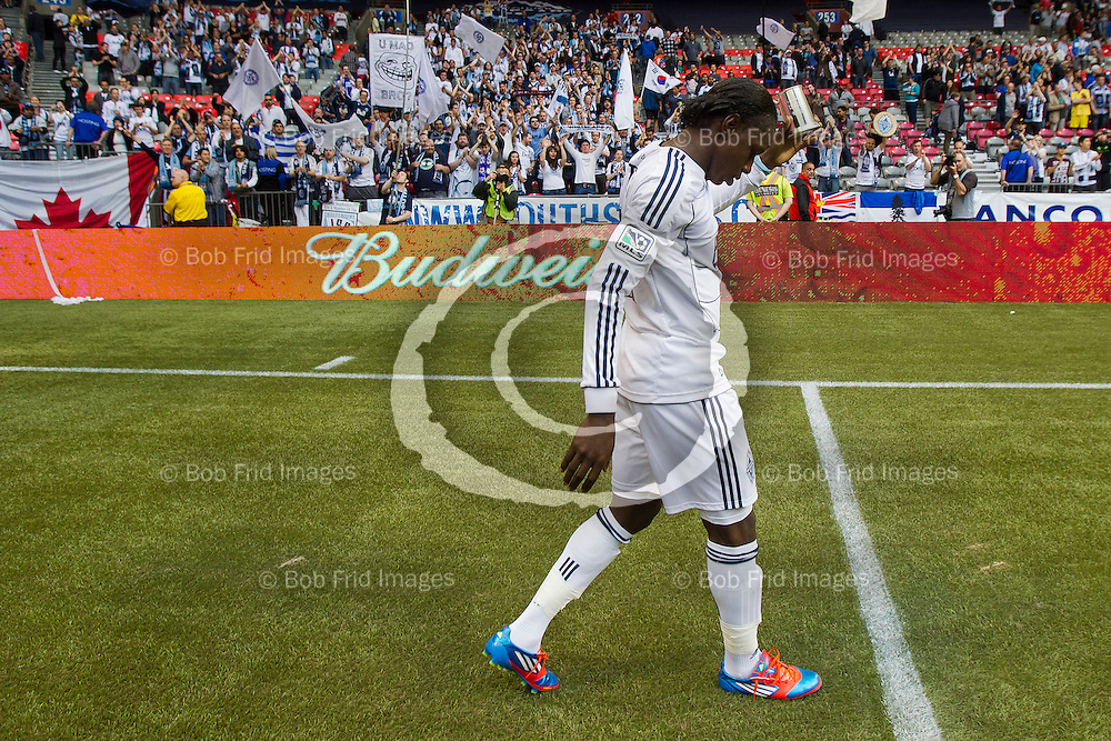 10 June 2012:   Action during a game between Vancouver Whitecaps FC and Houston Dynamo on Bell Pitch Downtown at BC Place Stadium in Vancouver, BC, Canada.  FInal Score: Vancouver 3 Houston 1  ****(Photo by Bob Frid - Vancouver Whitecaps) All Rights Reserved