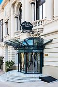 Private VIP entrance to the Casino of Monte Carlo, Monaco.