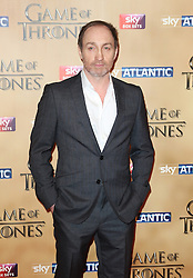 © Licensed to London News Pictures. 18/03/2015, UK. Ian Michael McElhatton (Roose Bolton), Game of Thrones - Series Five World Premiere, Tower of London, London UK, 18 March 2015. Photo credit : Richard Goldschmidt/Piqtured/LNP