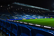 A general view of Elland Road Revie Stand during the EFL Sky Bet Championship match between Leeds United and Hull City at Elland Road, Leeds, England on 10 December 2019.