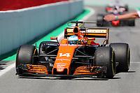 Barcellona - Gran Premio di Spagna - nella foto: Fernando Alonso  - McLaren  Honda    - Formula 1 2017