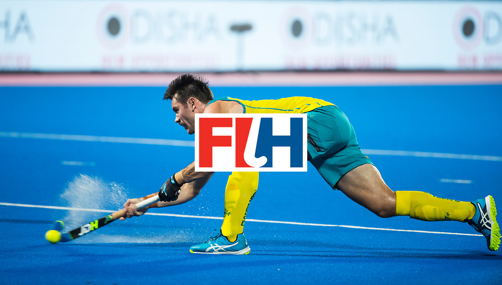 BHUBANESWAR - Jeremy Hayward (Aus)  Hockey World League finals , Final Australia-Argentina (2-1) . Australia wint de finale. COPYRIGHT KOEN SUYK