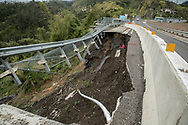 March 25, 2018, Puerto Rico, USA: High way in Puerto Rico 6 months after Hurricane Maria.