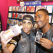 London, UK. 13th October, 2017.  Fans queueing for Simon Webbe - London album signing at HMV Westfield Ariel Way.