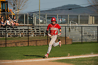 Laconia High School varsity baseball with White Mountain.  Karen Bobotas for the Laconia Daily Sun