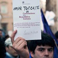 Manifestazione per la Costituzione