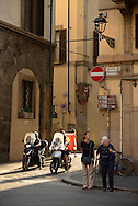 Piazza de Frescobaldi,Florence,Tuscany,Italy, Europe