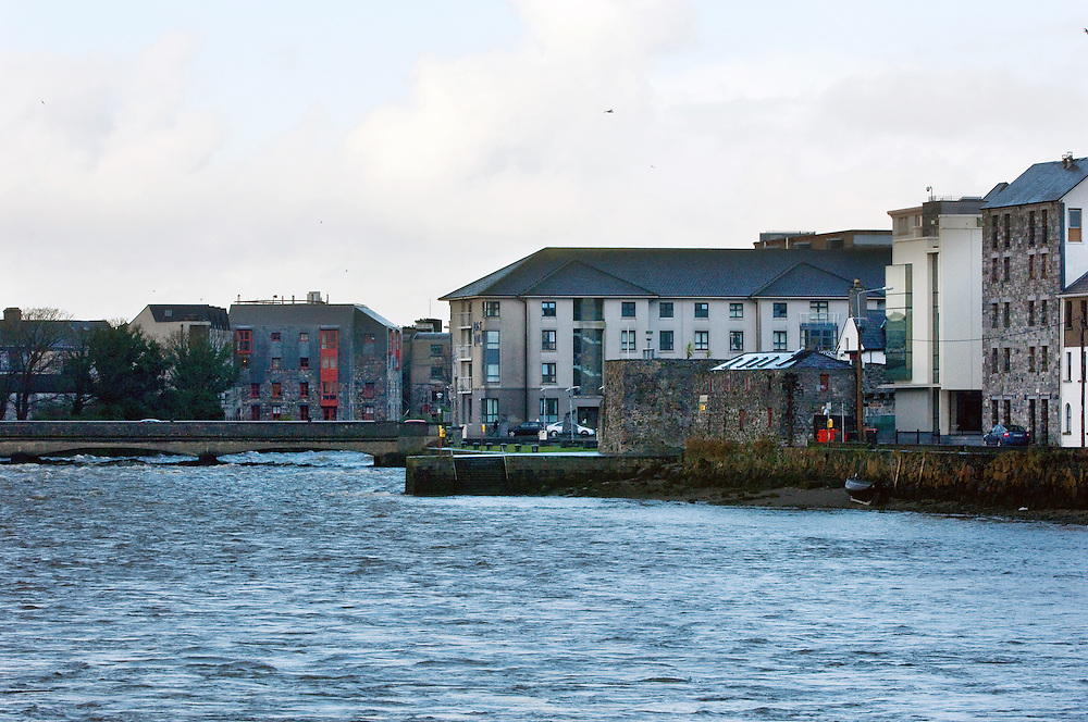 Spanish Arch, Cladagh River, Galway City. . Pic: Michael Mc laughlin