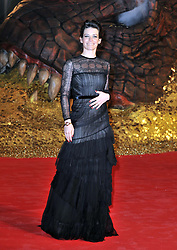 Evangeline Lilly attends the German premiere of the film 'The Hobbit: The Desolation Of Smaug', Sony Centre, Berlin, Germany,  Monday, 9th December 2013. Picture by  Schneider-Press / i-Images<br /> UK & USA ONLY