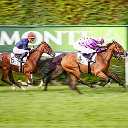 Cold Stare (F. Veron) wins Prix Roland De Chambure in Saint-Cloud, 14/07/2017, photo: Zuzanna Lupa / Racingfotos.com